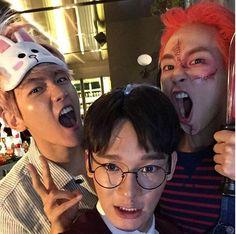 EXO - Baekhyun...Chen...Xiumun 151029 SMTOWN Wonderland Instagram Update
