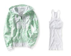 Aeropostale Womens; Juniors Lime (308) Aero Printed « Clothing Impulse