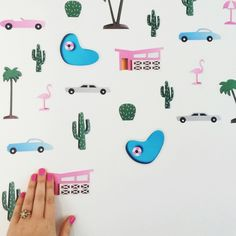 New Wall stickers by Megan McKean available at LITTLE PAPER LANE www.littlepaperlane.com.au