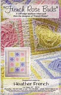 French Rose Buds Pattern
