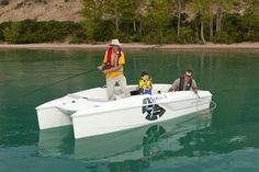 New 2012 Campion Boats i4 Infinyte Power Catamaran Boat  - Enjoying a Day Fishing.