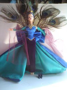 "Barbie de collection""birds of beauty""the peacock"