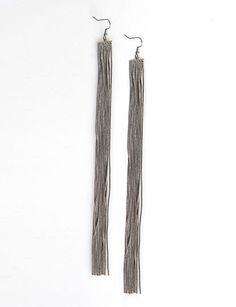 Fringe Earrings, flirtcatalog.com