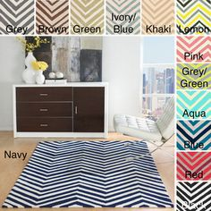 @Overstock.com - nuLOOM Handmade Alexa Chevron Wool Rug (6' x 9') - Bring one of the trendiest looks of the decade into your home with this large chevron wool rug in your choice of six fashionable colors. This rugs medium pile provides softness underfoot while still holding up well to heavy foot traffic.  http://www.overstock.com/Home-Garden/nuLOOM-Handmade-Alexa-Chevron-Wool-Rug-6-x-9/6530642/product.html?CID=214117 $197.34