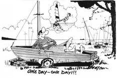 Resultado de imagem para cartoon about sailing