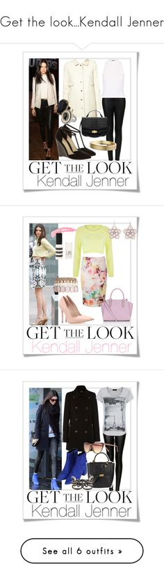 """""""Get the look...Kendall Jenner"""" by sweetie678 ❤ liked on Polyvore featuring Polaroid, ASOS, Topshop, BA&SH, Monsoon, Miss Selfridge, Adele Marie, POLICE, River Island and Ted Baker"""