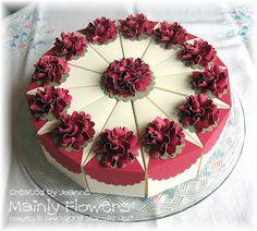 Torte Blumen Rot