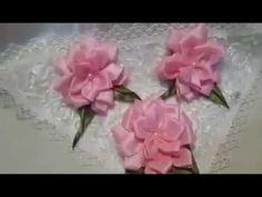 Basit 3 boyutlu yıldız çiçeği yapımı (kurdela nakışı )