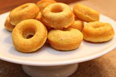 (baked) pumpkin donuts