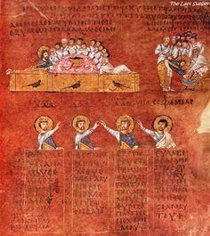Codex Purpureus Rossanensis The Last Supper