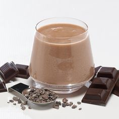 Chocolate Indulgence Smoothie Mix-In #weightlosssmoothies
