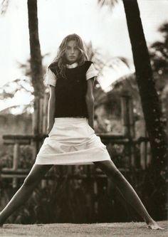 Gisele Bundchen by Gilles Bensimon for Elle US October 2002