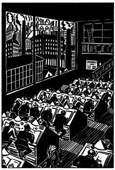La ciudad / Frans Masereel