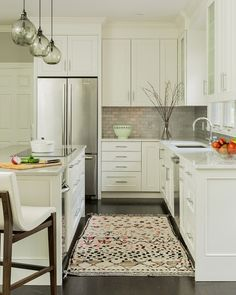 Great Small Kitchen Island Layout. #Smallkitchen #Layout #SmallkitchenLayout  Jennifer Palumbo.