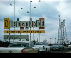 Disneyland in the '50's.