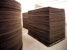 Joseph Beuys, Stacks of Felt on ArtStack #joseph-beuys #art