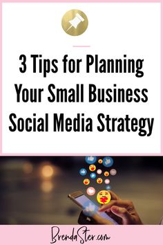 3 expert tips to build a successful social media marketing strategy for your small business. Master your Facebook, Pinterest, and Instagram marketing through actionable tips and tricks. #SocialMediaMarketing Don't forget to repin this for later!!
