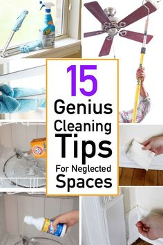 Explore quick and clever cleaning tips for those often overlook spaces. You'll find creative cleaning ideas for your ovens, showers, bathrooms and more! House Cleaning Checklist, Household Cleaning Tips, Deep Cleaning, Cleaning Hacks, Cleaning Products, Cleaning Supplies, Cleaners Homemade, Diy Cleaners, Ink Cartridge Reset