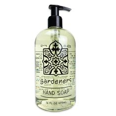 Gardeners Garden Liquid Soap by Greenwich Bay Trading Co Cocoa Butter, Shea Butter, Salt Body Scrub, Bottle Top, Liquid Soap, Bar Soap, Body Wash, Soap Dispenser, Body Lotion