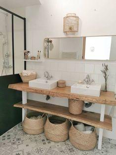 Blog Deco, Double Vanity, Sweet Home, New Homes, Lifestyle, Bathrooms, Studio, Decor, Houses