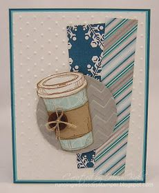 RunningwScissorsStamper: The Stamp Review Crew: Perfect Blend Edition-coffee cup card