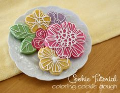 Coloring Dough for Easy Cookies
