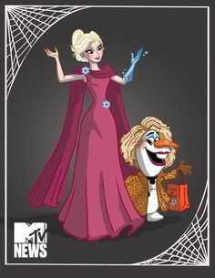 Image result for halloween disney princess art