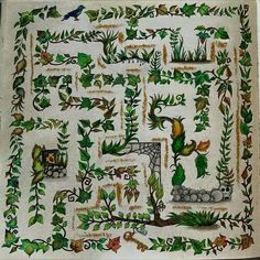 Maze enchanted forest
