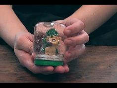 How to Make a Snow Globe Happy Holidays, Fun Crafts, Snow Globes, How To Make, Diy, Home Decor, Fun Diy Crafts, Decoration Home, Fun Activities
