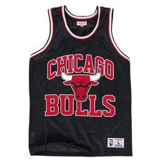 Mitchell & Ness Drop Step Mesh Tank - Chicago Bulls Logo Basketball, Nba Chicago Bulls, Textiles, Basket Ball, Tank Man, Drop, Mens Tops, Mesh, Athlete