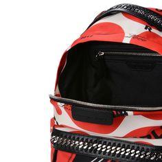 7b47fa7422 STELLA McCARTNEY Thanks Girls Print Falabella GO Backpack Falabella  Backpacks D e Stella Mccartney