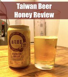Taiwan Beer Honey Review - www.drinkingondimes.com