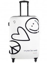 Peace Love World Clothing Hard Side Lug E Travel Accessories