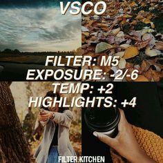 Autumn filter