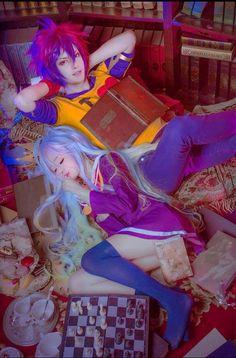 Cosplay Shiro e Sora♡ Shiro Cosplay, Cat Cosplay, Kawaii Cosplay, Cosplay Anime, Cosplay Makeup, Cosplay Girls, Cosplay Costumes, Cosplay Ideas, Kawaii Girl