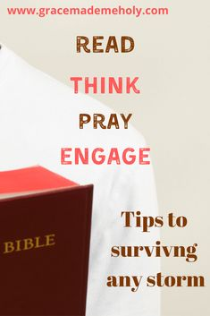 The Bible tells us how to survive every storm. His Word directs us and His ways are unshakable! You can experience God's peace in every circumstance. Bible Study Plans, Christian Post, God Loves You, Study Notes, Spiritual Growth, Quotable Quotes, Word Of God, Helping People, Encouragement