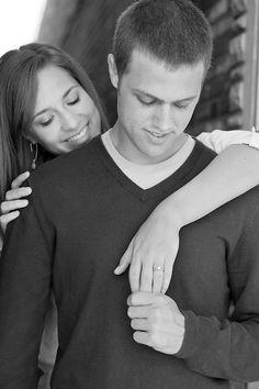 Engagement pic - actually looks like Matt :/ creepy