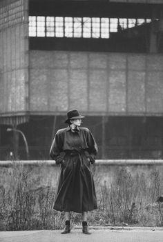 Uta, 1984.  East Berlin GDR.  photo by Sibylle Bergemann (1941-2010).