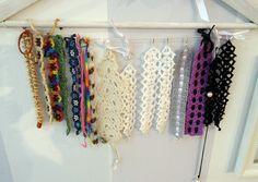 Handmade Bijoux and Accessories - Bracciali realizzati a mano all'uncinetto