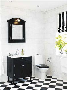 art deco bathroom - Bathroom Ideas | Pinterest - Toiletten, Zwart ...