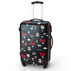 Hello Kitty Travel Luggage Carry Case Suitcase Large L Size TSA SANRIO JAPAN