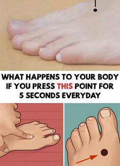 Amazing! What Happens To Your Body If You Press This Point For 5 Seconds Everyday! We shouldn't forget about the homeopathic healing methods!