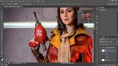 Adobe Photoshop CS6 Tutorial - 10. Status Bar and Navigator Panel