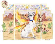 Desert Queen Fairy Cat