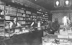 Early apothecary shops were a mixture of retail grocery stores offering medical advice and drugs. Description from pinterest.com. I searched for this on bing.com/images