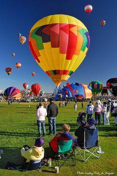 Balloon ascension