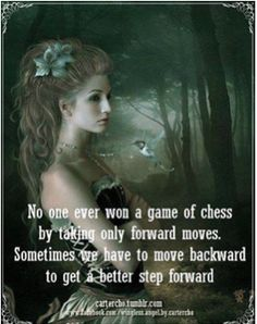 Chess perspective, cool.