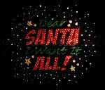 85 H x 95 W Dear Santa I Want It All by XOXOBLING on Etsy, $9.99