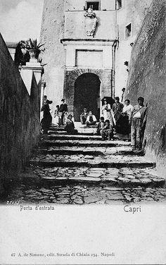 L'antica porta di città di Capri #TuscanyAgriturismoGiratola