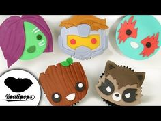 (348) Guardians of the Galaxy Cupcakes | Marvel Studios | How to & DIY Party Ideas - YouTube